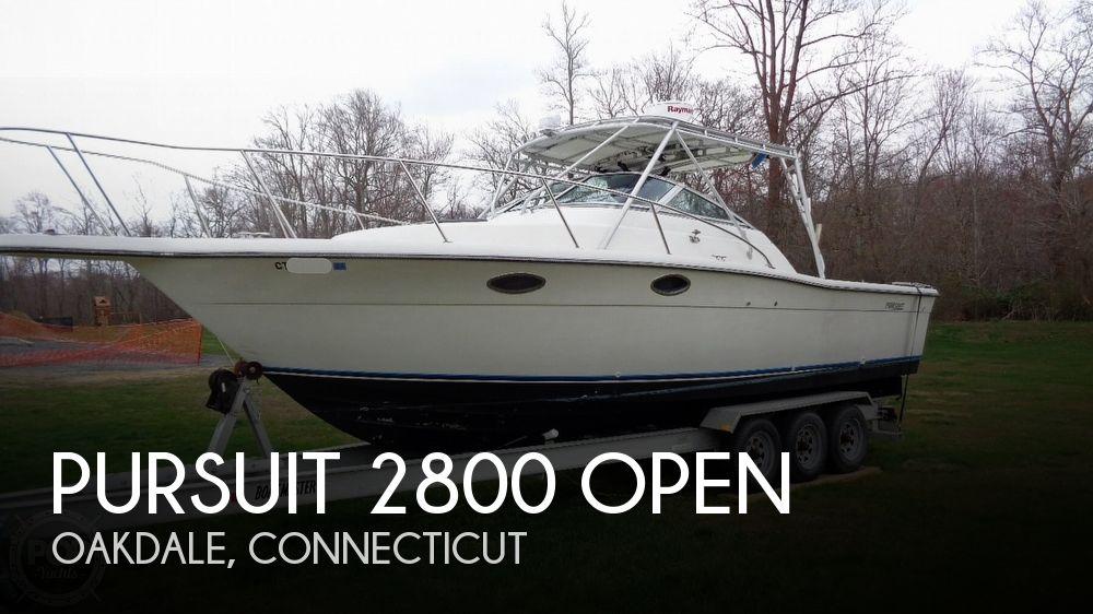 1989 PURSUIT 2800 OPEN for sale