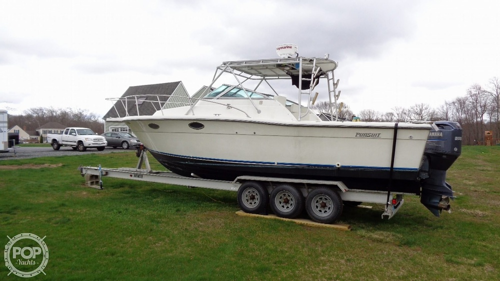 1989 Pursuit boat for sale, model of the boat is 2800 Open & Image # 7 of 40