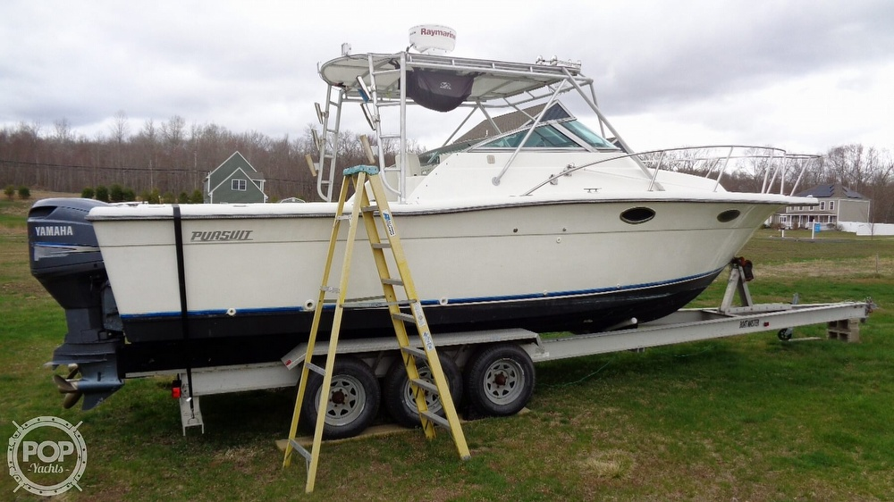 1989 Pursuit boat for sale, model of the boat is 2800 Open & Image # 11 of 40