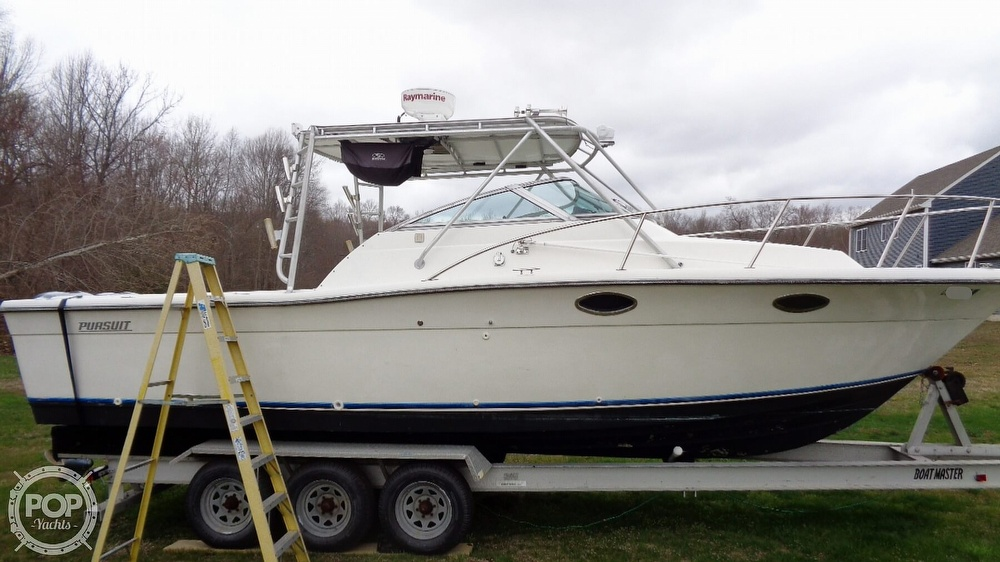 1989 Pursuit boat for sale, model of the boat is 2800 Open & Image # 12 of 40
