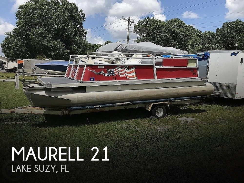 1988 Maurell boat for sale, model of the boat is 21 & Image # 1 of 25
