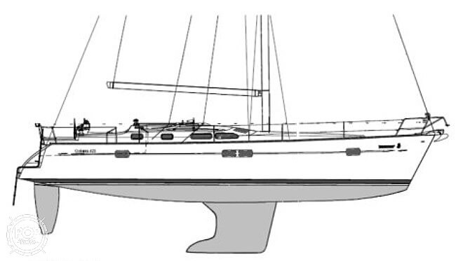 2006 Beneteau boat for sale, model of the boat is 423 & Image # 10 of 40