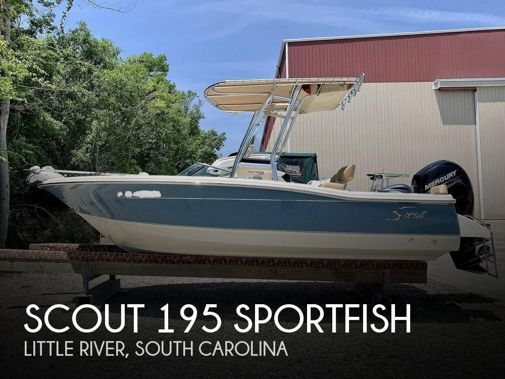 2016 Scout boat for sale, model of the boat is 195 Sportfish & Image # 1 of 40