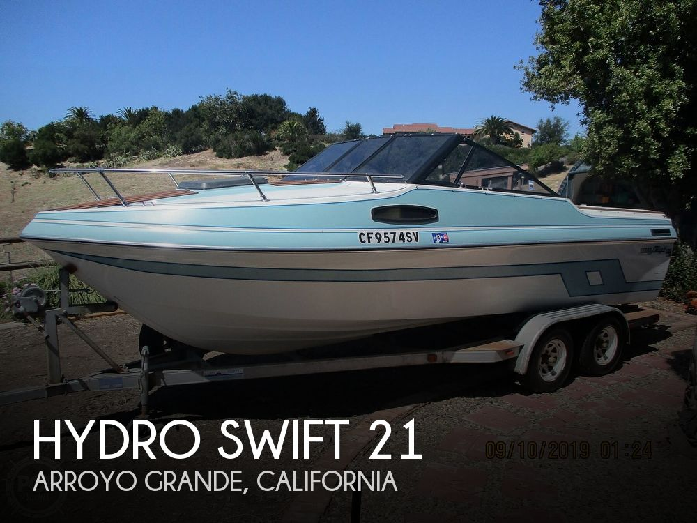 Used Boats For Sale in San Luis Obispo, California by owner | 1992 Hydro Swift 21