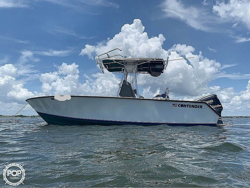 1995 Contender boat for sale, model of the boat is 21 & Image # 2 of 40