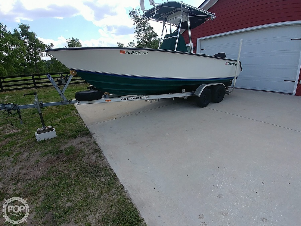 1995 Contender boat for sale, model of the boat is 21 & Image # 7 of 40