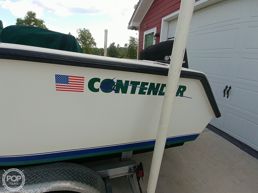 1995 Contender boat for sale, model of the boat is 21 & Image # 11 of 40