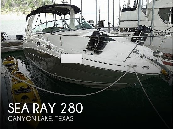 Used Boats For Sale in San Antonio, Texas by owner | 2006 Sea Ray 280 Sundancer