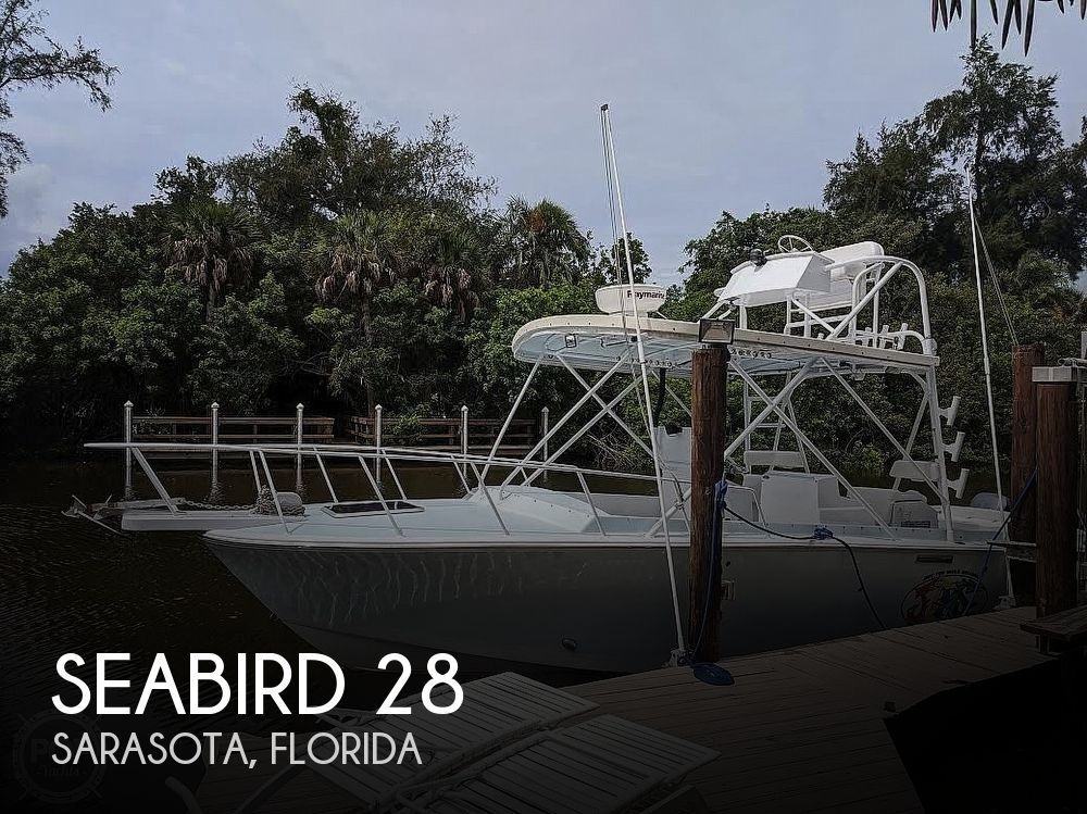 1972 Seabird boat for sale, model of the boat is Bimini Express 28 & Image # 1 of 40