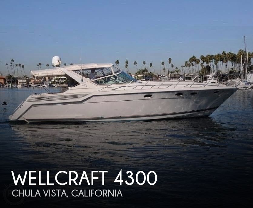 1990 Wellcraft boat for sale, model of the boat is portofino 4300 & Image # 1 of 40