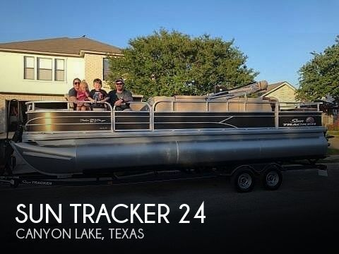 Used Tracker Boats For Sale by owner | 2018 Sun Tracker Fishin Barge 24 XP3