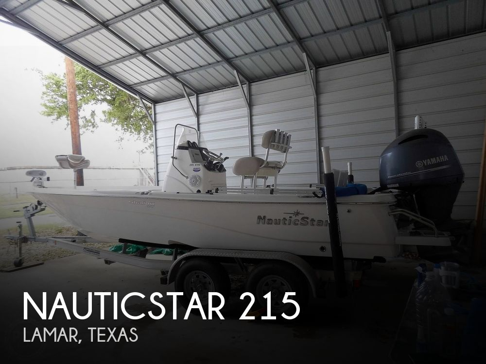 2017 Nautic Star boat for sale, model of the boat is 215 XTS Shallow Bay & Image # 1 of 40