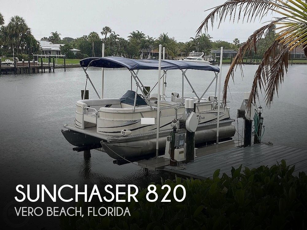 2010 SunChaser boat for sale, model of the boat is 820 & Image # 1 of 40