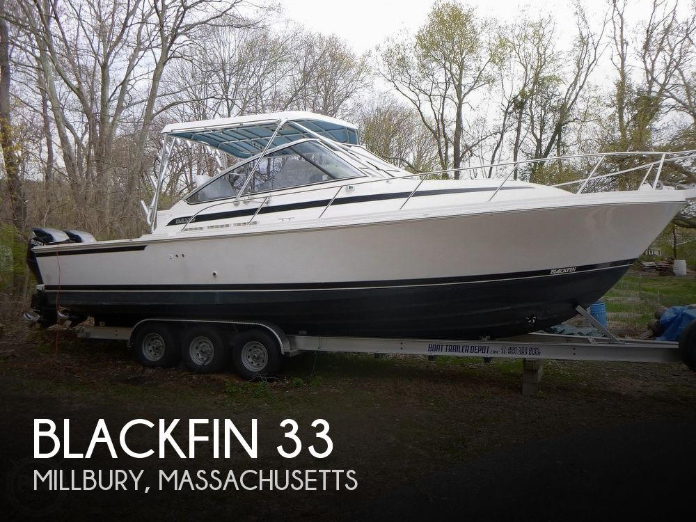 1994 Blackfin boat for sale, model of the boat is 33 & Image # 1 of 40