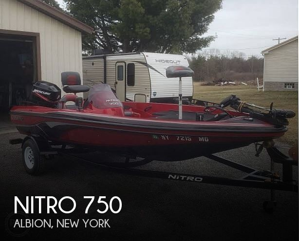 Used NITRO Boats For Sale in New York by owner   2007 Nitro 750