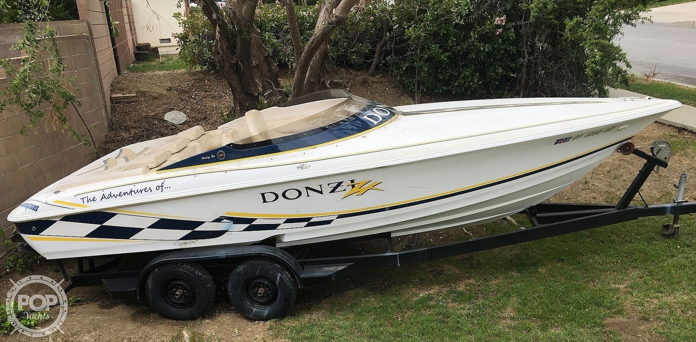 2001 Donzi boat for sale, model of the boat is 22ZX & Image # 7 of 40