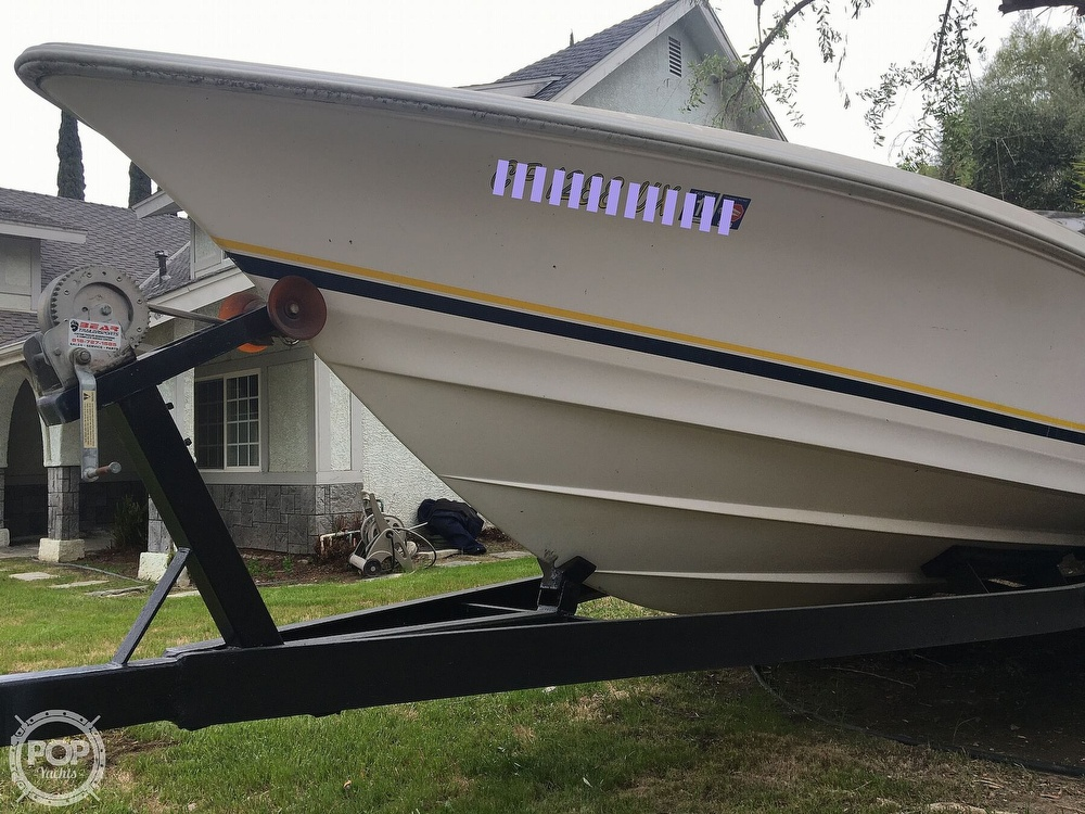2001 Donzi boat for sale, model of the boat is 22ZX & Image # 39 of 40