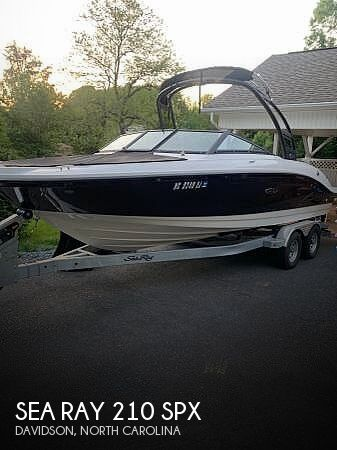 Used Sea Ray Boats For Sale in North Carolina by owner | 2018 Sea Ray 210 SPX