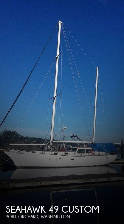 1991 Seahawk boat for sale, model of the boat is 49 Custom & Image # 1 of 40