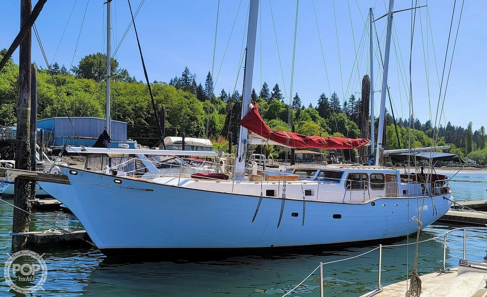 1991 Seahawk boat for sale, model of the boat is 49 Custom & Image # 10 of 40