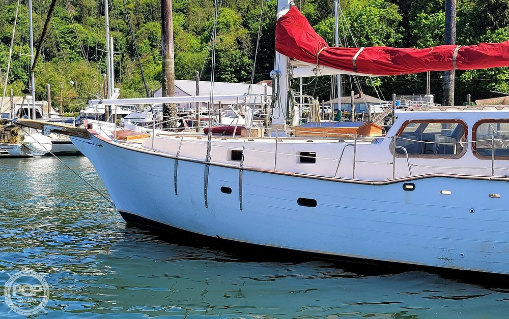 1991 Seahawk boat for sale, model of the boat is 49 Custom & Image # 8 of 40