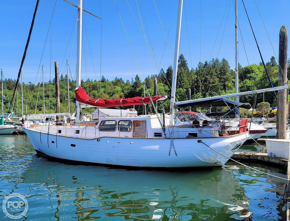 1991 Seahawk boat for sale, model of the boat is 49 Custom & Image # 3 of 40