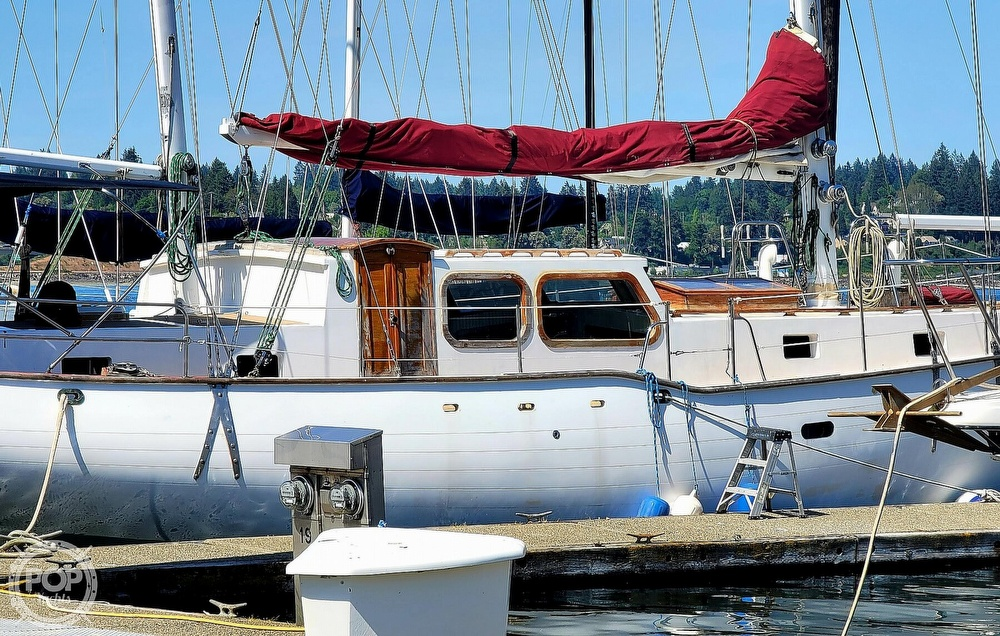 1991 Seahawk boat for sale, model of the boat is 49 Custom & Image # 12 of 40