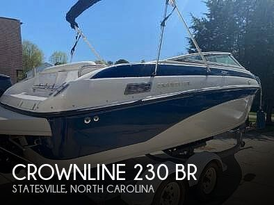 Used Crownline Boats For Sale in North Carolina by owner   2002 Crownline 230 BR