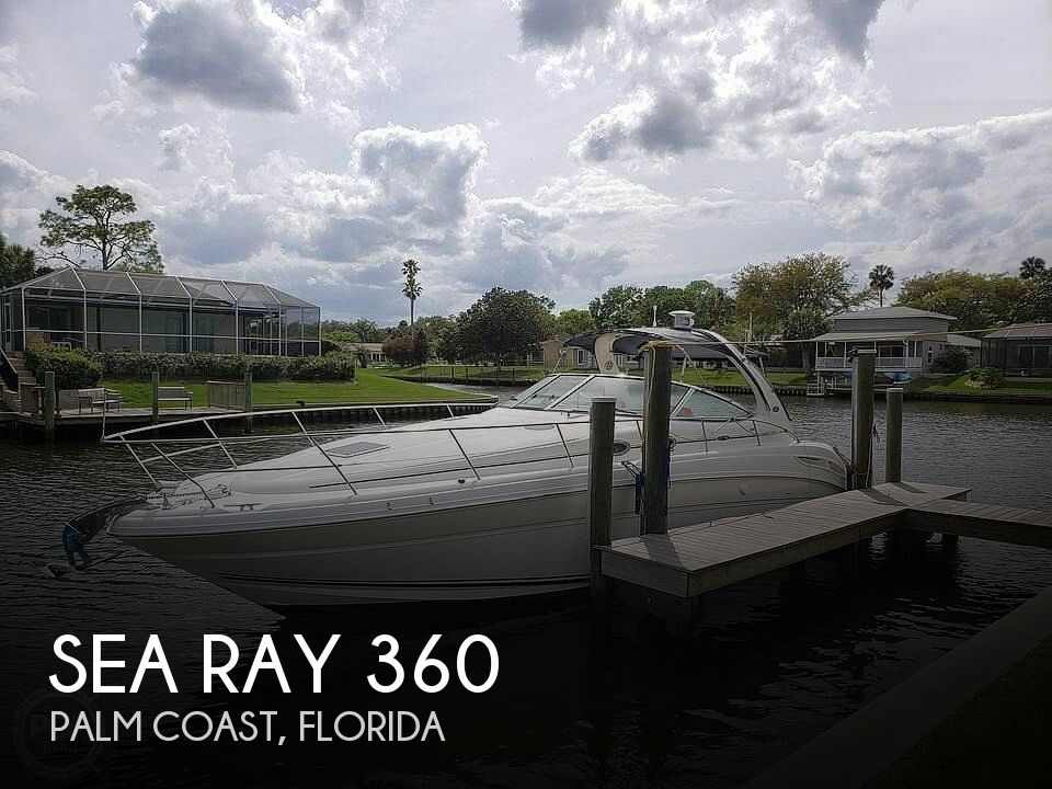 Used Boats For Sale in Deltona, Florida by owner | 2002 Sea Ray 360 Sundancer