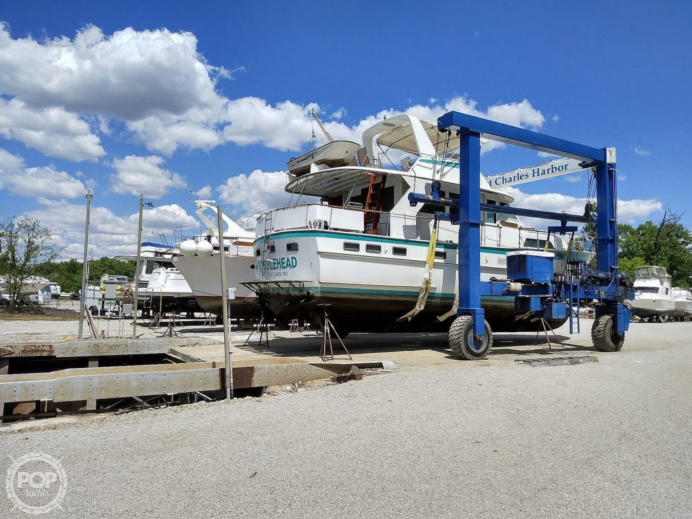 1967 Hatteras boat for sale, model of the boat is 50 & Image # 3 of 5