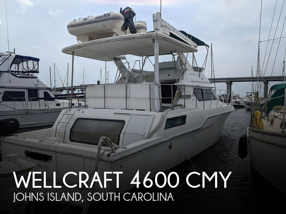 1994 Wellcraft boat for sale, model of the boat is 4600 CMY & Image # 1 of 40
