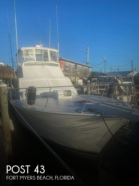 Used Post Boats For Sale by owner | 1989 Post 43