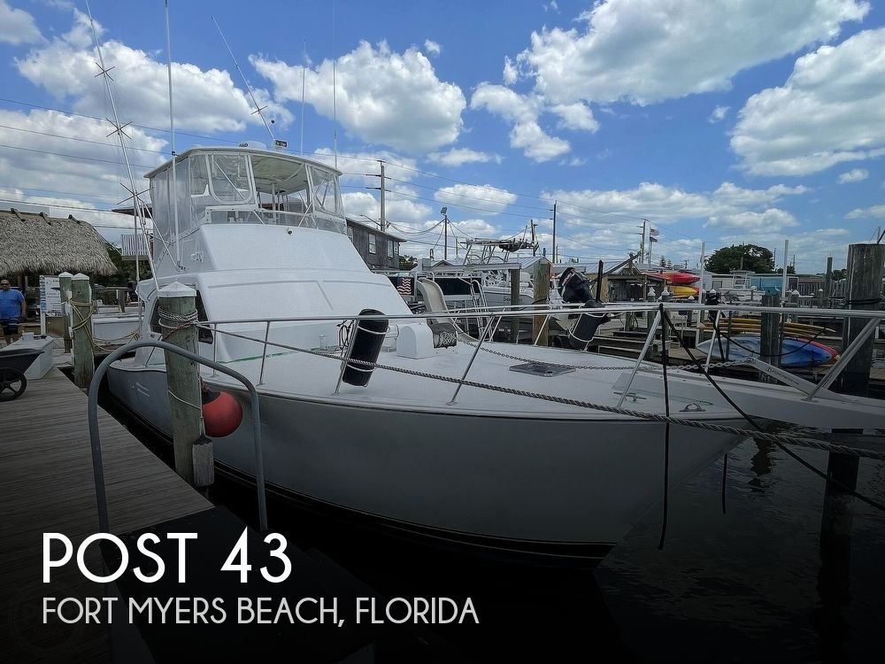 1989 Post Marine boat for sale, model of the boat is 43 & Image # 1 of 40