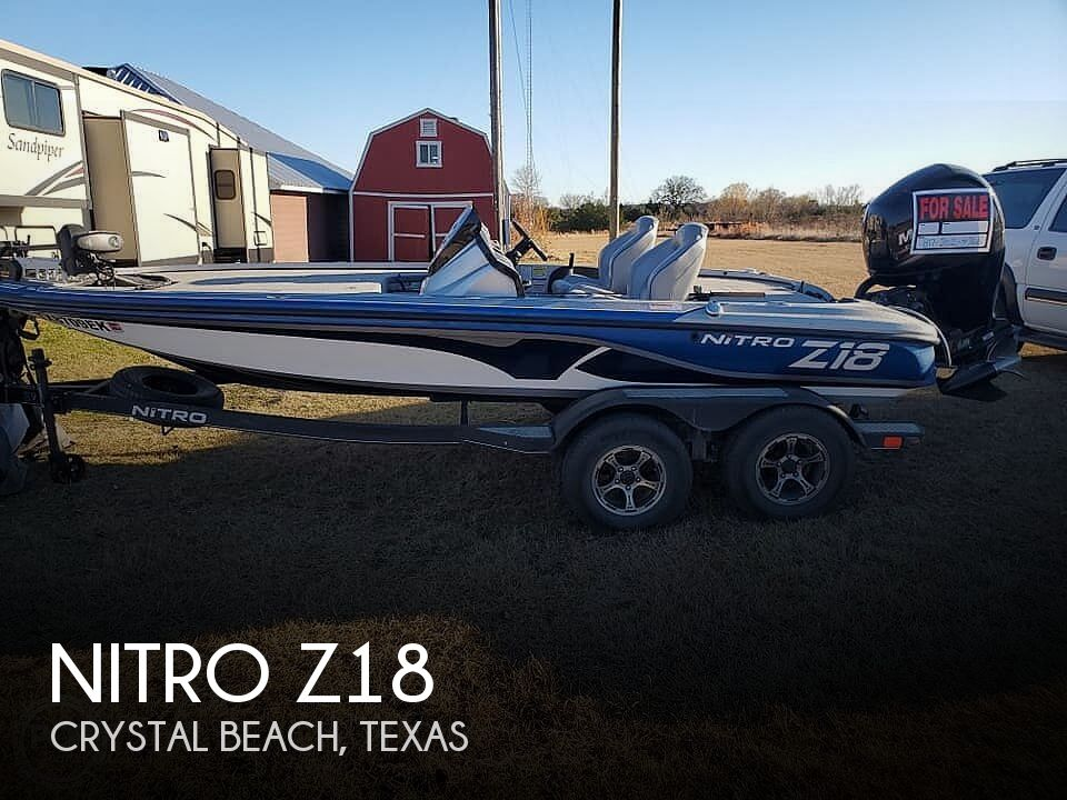 Used NITRO Boats For Sale in Texas by owner | 2018 Nitro Z18