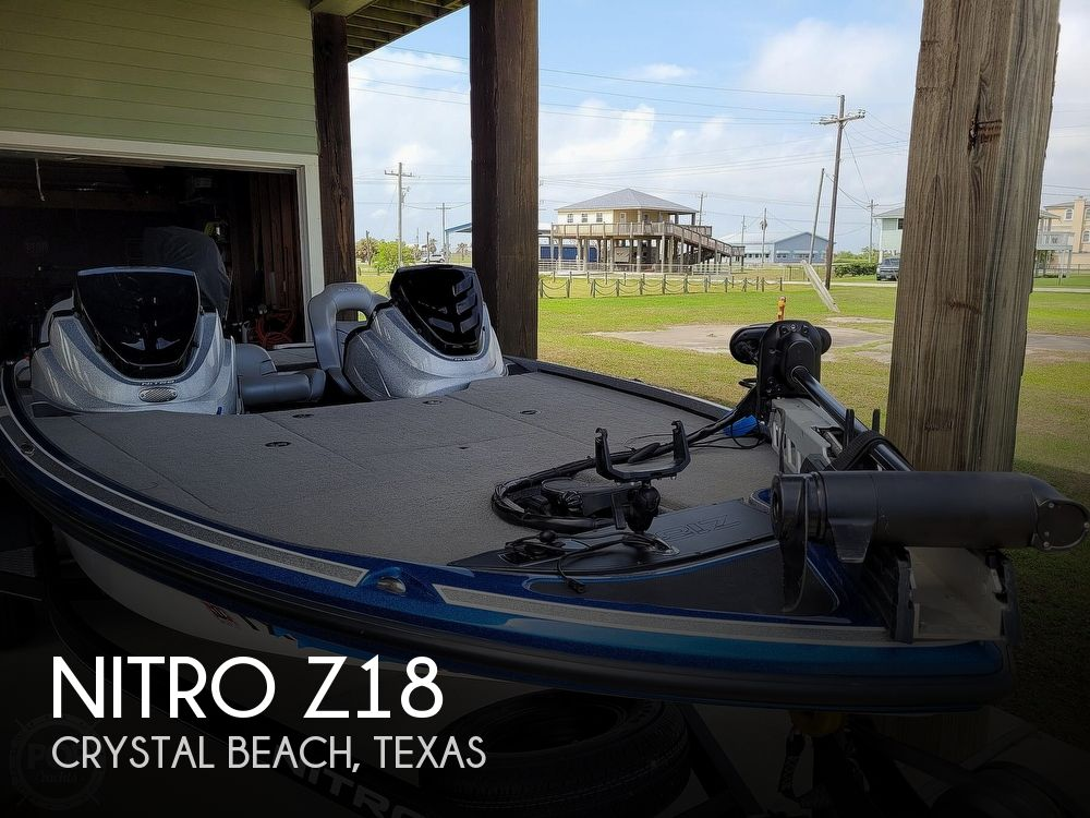 2018 Nitro boat for sale, model of the boat is Z18 & Image # 1 of 40