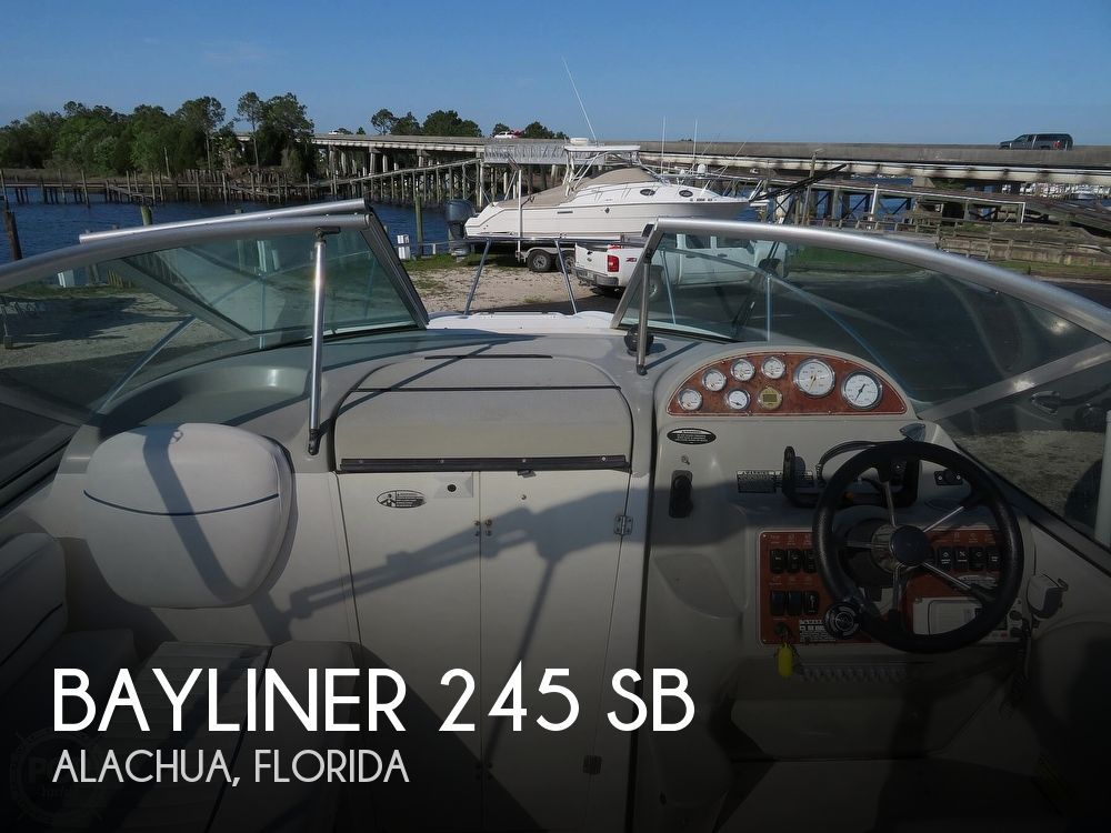 2007 Bayliner boat for sale, model of the boat is 245 SB & Image # 1 of 40