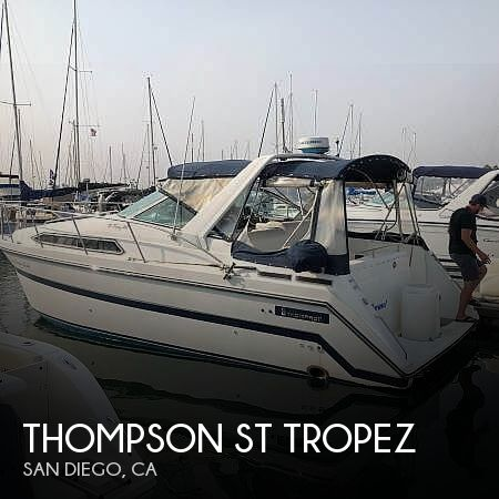 Used Thompson Boats For Sale by owner | 1990 31 foot Thompson St Tropez
