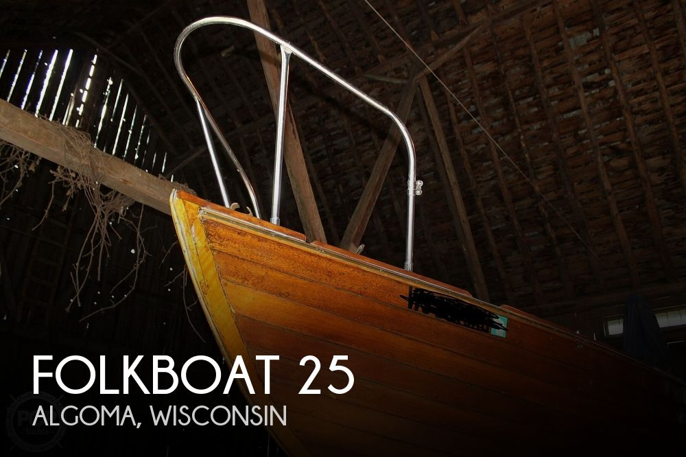 1963 Folkboat boat for sale, model of the boat is 25 & Image # 1 of 40