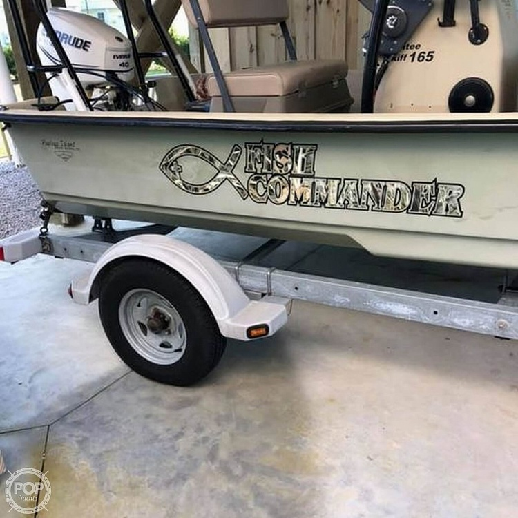 2012 Pawley's Island Custom boat for sale, model of the boat is Santee Skiff 165 & Image # 2 of 11