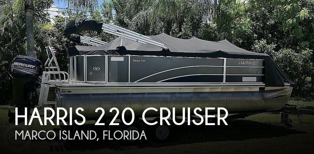 Used Harris Pontoon Boats For Sale by owner | 2016 Harris 220 Cruiser