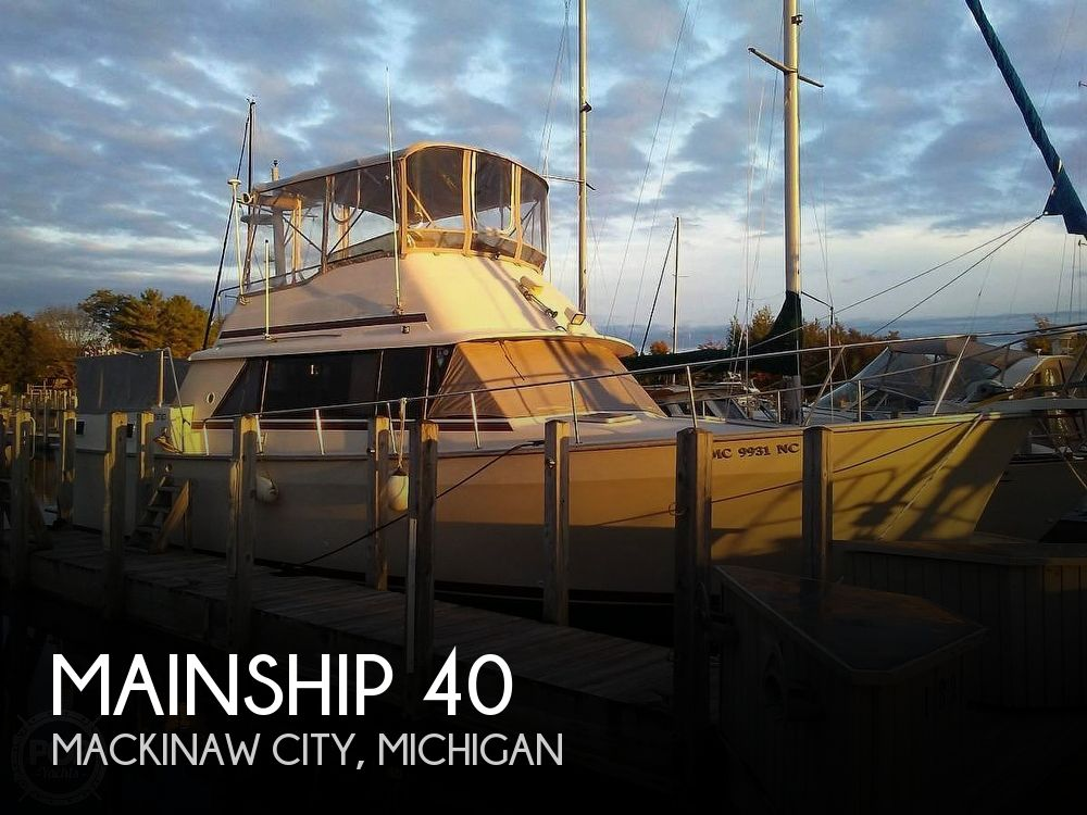 Used Fishing boats For Sale in Michigan by owner | 1987 Mainship DC40 Nantucket