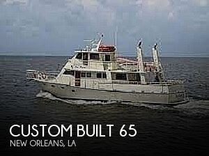 Used Boats For Sale in New Orleans, Louisiana by owner | 1984 Custom Built 65