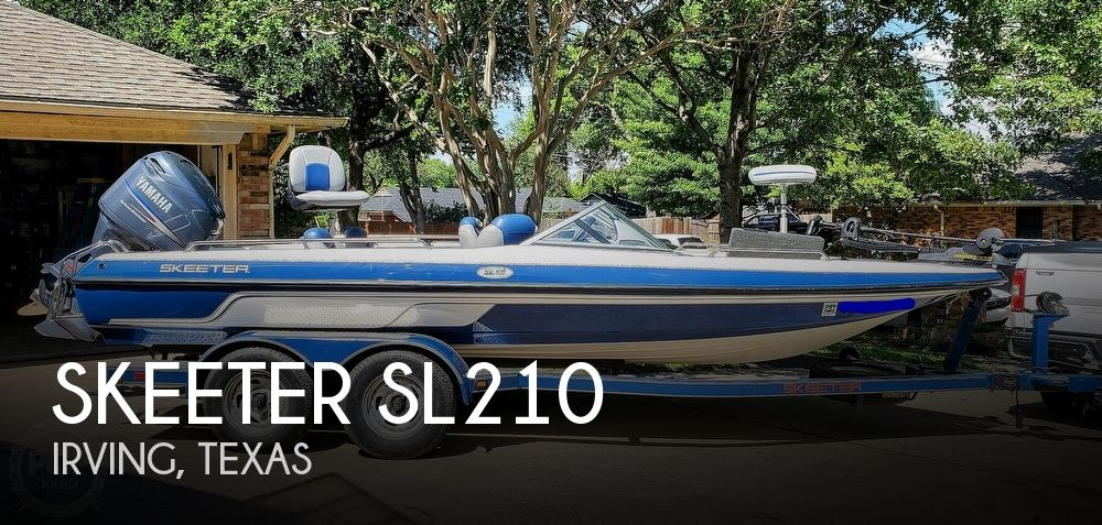 2006 Skeeter boat for sale, model of the boat is SL210 & Image # 1 of 40