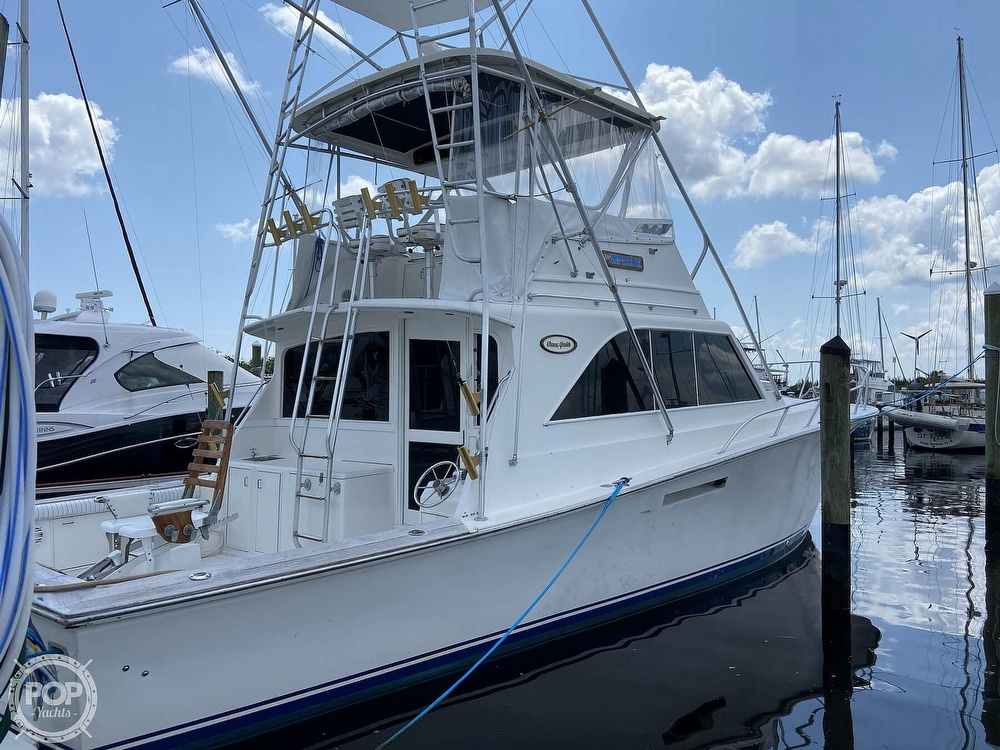 1983 Ocean Yachts boat for sale, model of the boat is 46 Super Sport & Image # 16 of 40