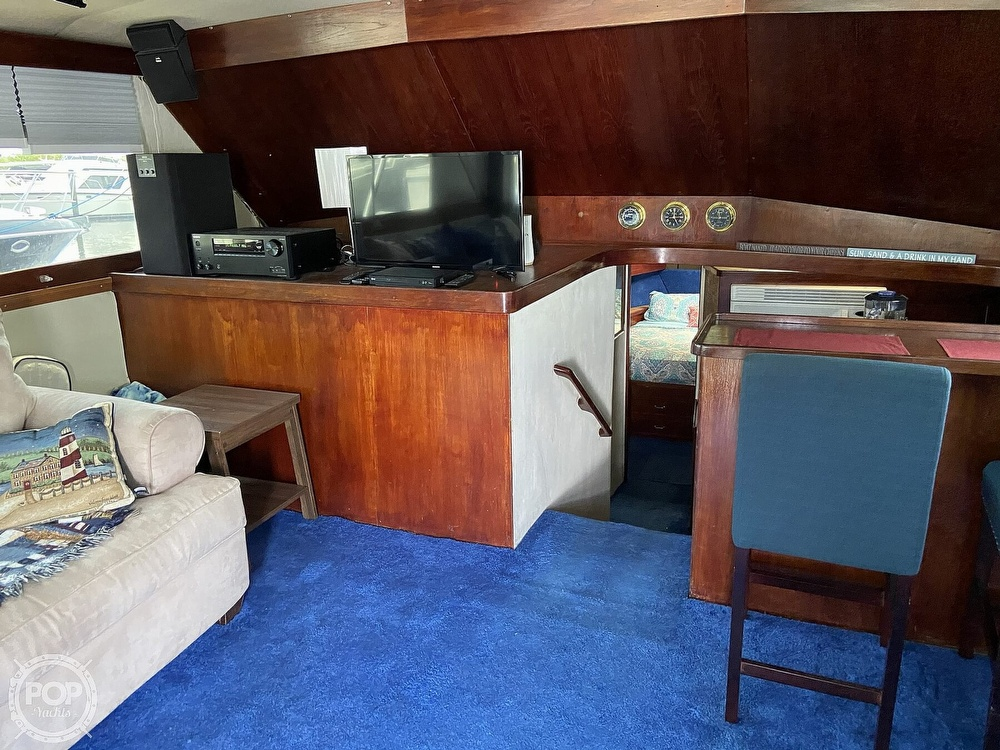 1983 Ocean Yachts boat for sale, model of the boat is 46 Super Sport & Image # 5 of 40