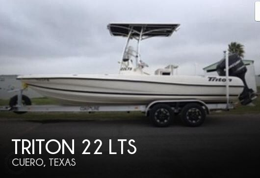 2008 TRITON 22 LTS for sale