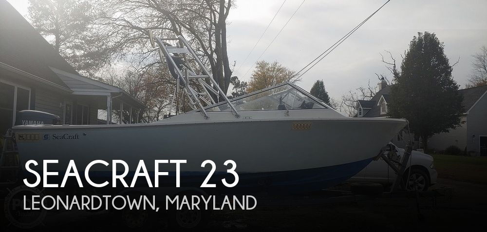Used SEACRAFT Boats For Sale by owner   1973 SeaCraft 23