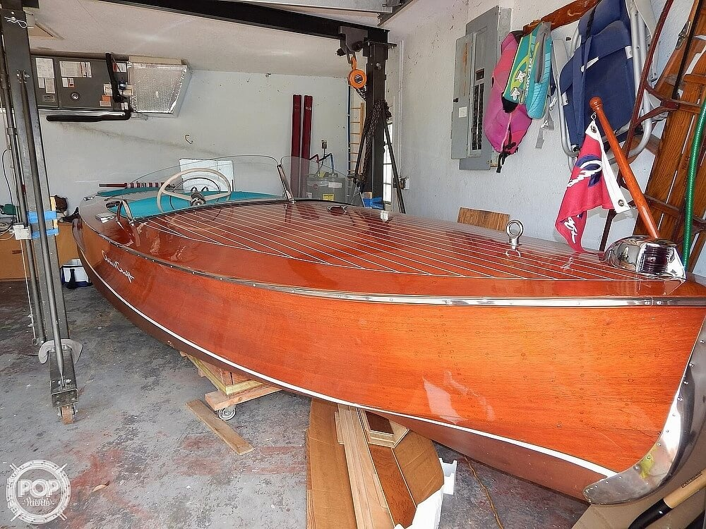 1950 Chris Craft boat for sale, model of the boat is Racing Runabout & Image # 2 of 40