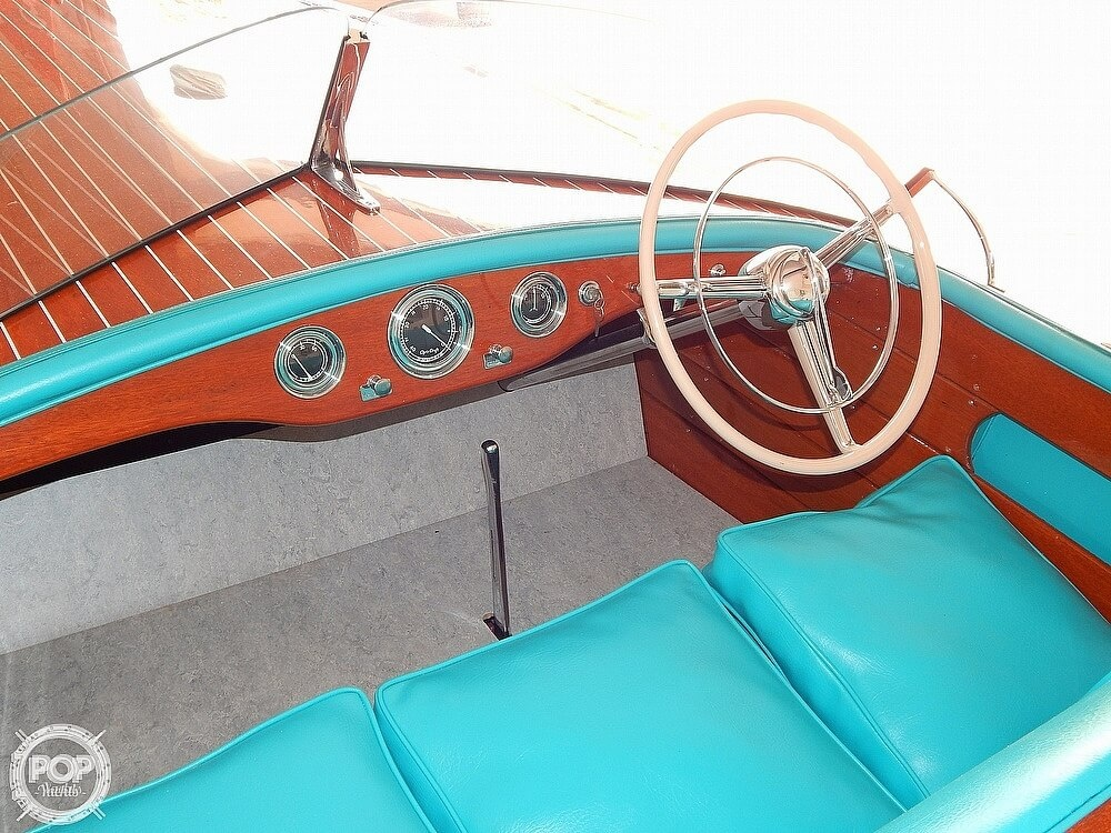 1950 Chris Craft boat for sale, model of the boat is Racing Runabout & Image # 3 of 40