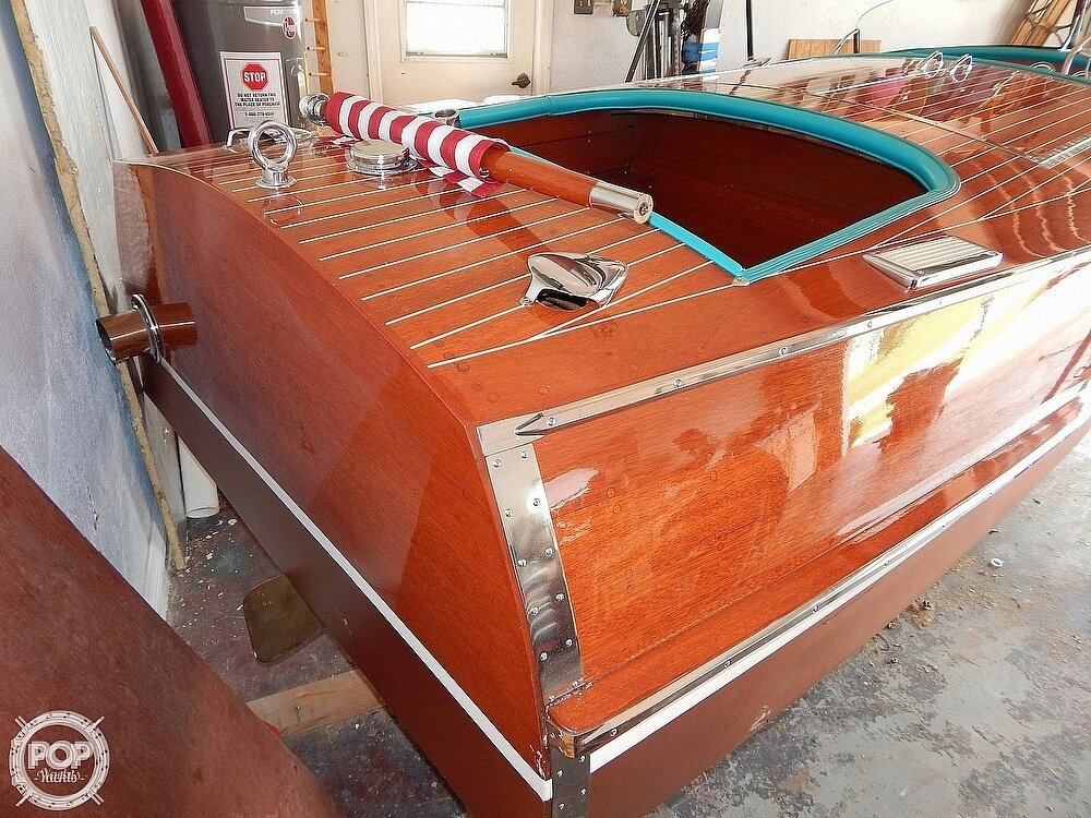 1950 Chris Craft boat for sale, model of the boat is Racing Runabout & Image # 6 of 40